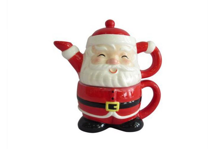 Asda Santa Tea Pot