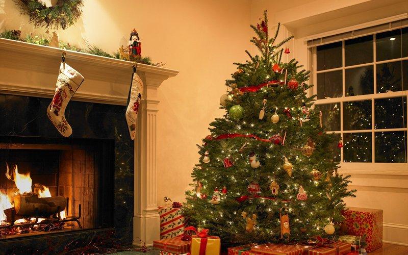 Bugs sur votre arbre de Noël Santa
