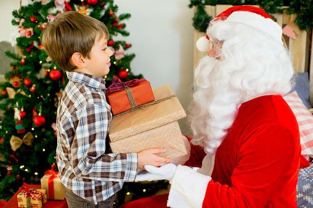 Barn redd for Santa