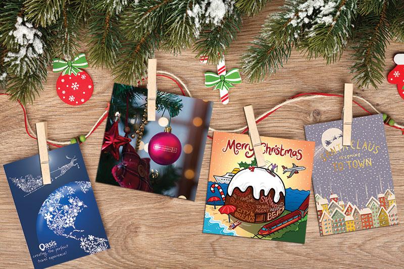 Weihnachtskarten-Mailer