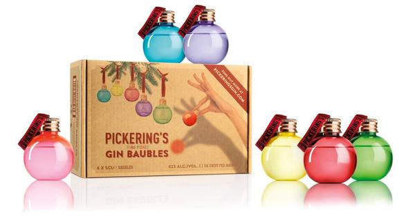 christmas gin baubles