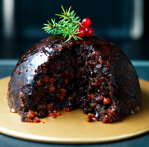 Marks and Spencers Pudding de Noël