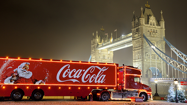 Coca-Cola tour truck dates 2018