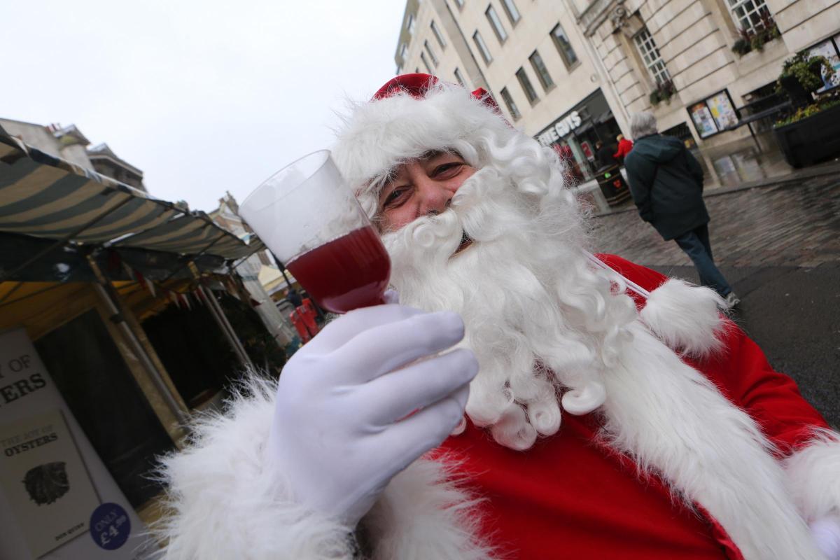 Santa in Colchester