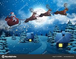 flygande jultomten