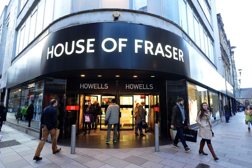 casa de Fraser en Navidad