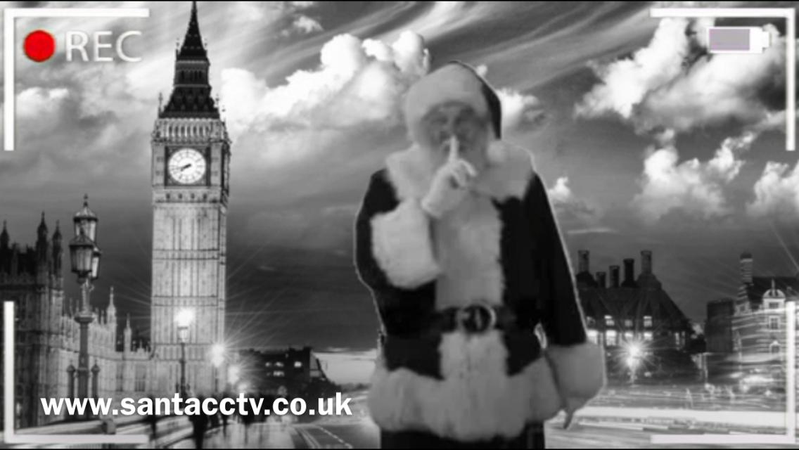 santa big ben caught on santa cam