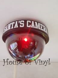 santa cam flashing light