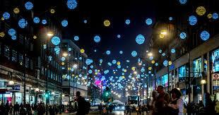 luces en la calle de Oxford