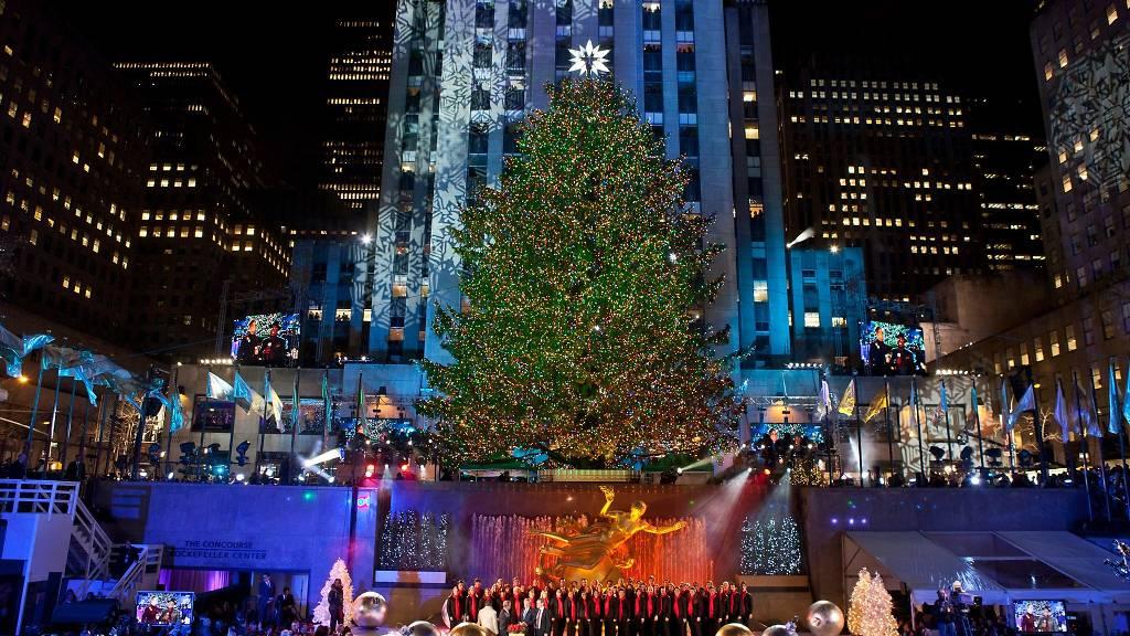 árbol de navidad rockafella
