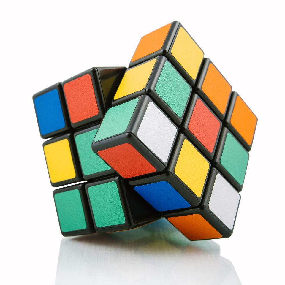 рождество rubix cube