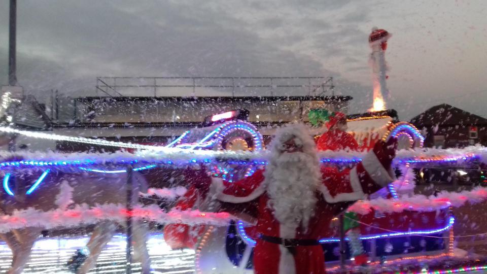 Santa attaqué à l'événement dans essex