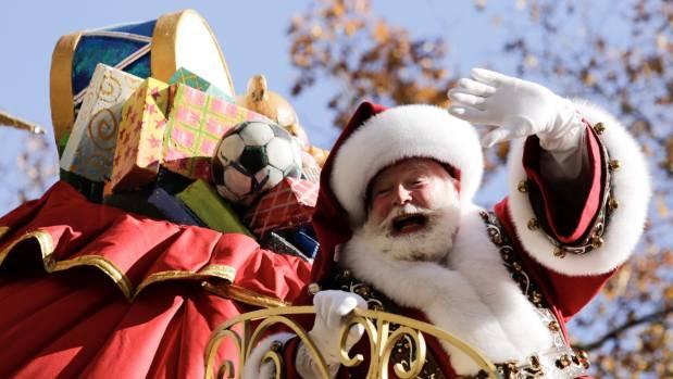 Santa Christmas Fragebogen