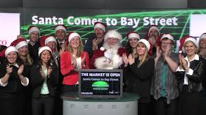 Santa Claus sells Santa Cams on the stock market