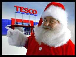 Santa Claus now selling Santa Cams at Tesco