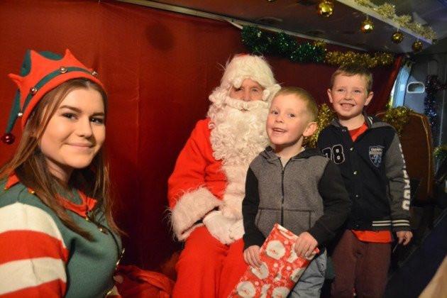 Święty Mikołaj w Helcopterze