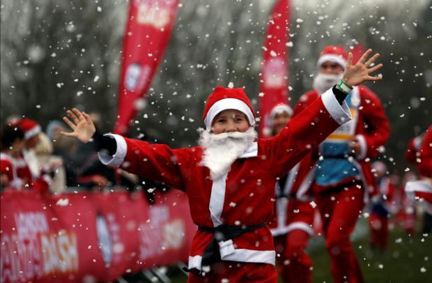 Santa rennen