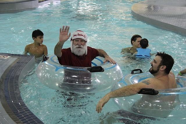 Svøm med julemannen