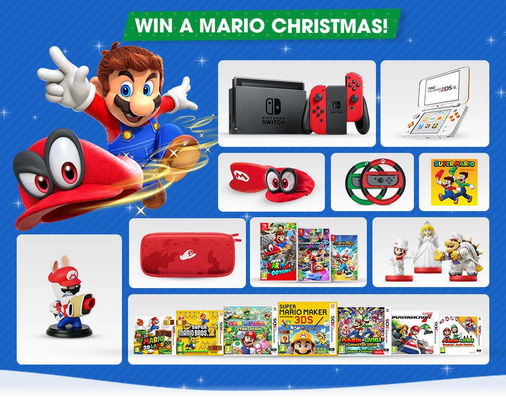 Win een Nintendo deze kerst